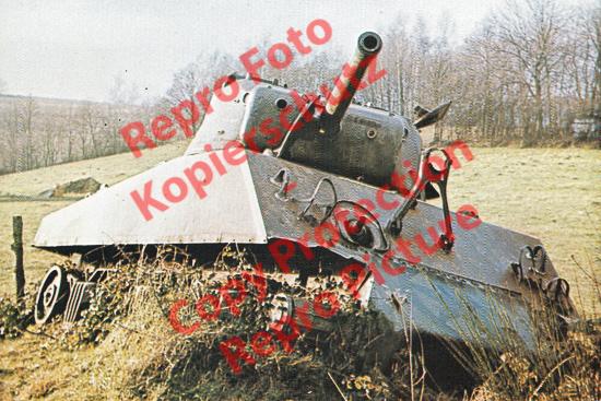 Foto-20er-Format-Panzer-Tank-M4A3-Sherman-ca-20x30cm