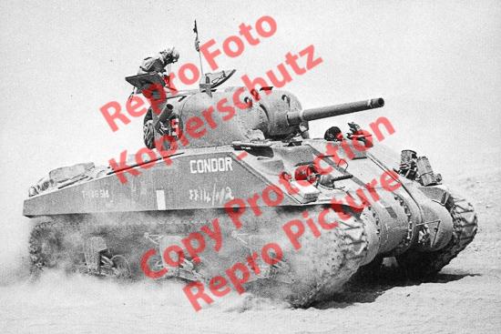 Foto-20er-Format-Panzer-Tank-M4-Sherman-I-ca-20x30cm