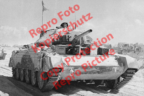 Foto-20er-Format-Panzer-Tank-Mark-VI-Crusader-II-ca-20x30cm