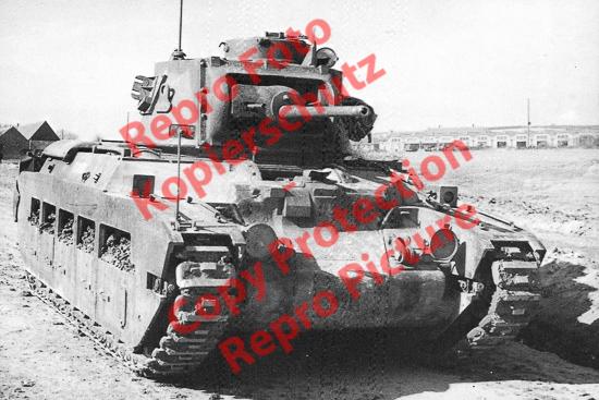 Foto-20er-Format-Panzer-Infantry-Tank-Mk-II-Matilda-II-ca-20x30cm
