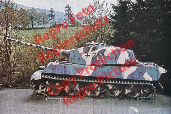 Foto-20er-Format-Panzer-Tank-Tiger-II-Koenigstiger-ca-20x30cm