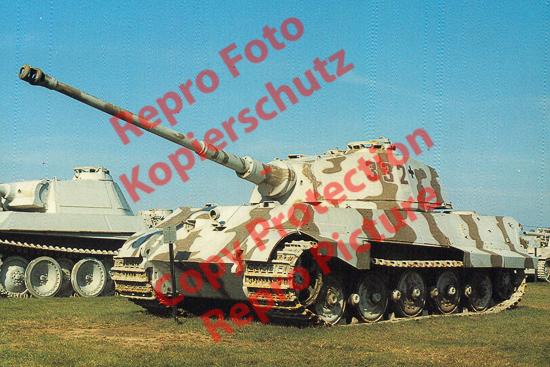 Foto-20er-Format-Tank-Panzer-Kampfwagen-Tiger-II-Koenigstiger-ca-20x30cm