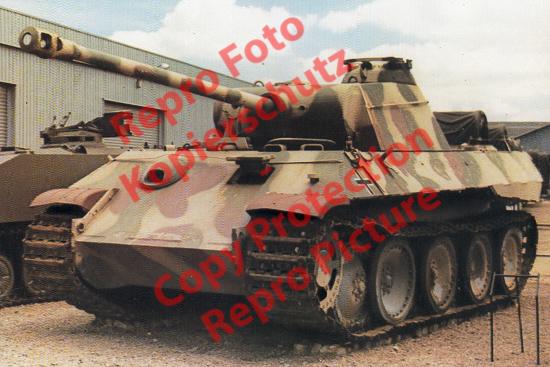 Foto-20er-Format-Panzer-Kampfwagen-Tank-Panther-A-ca-20x30cm