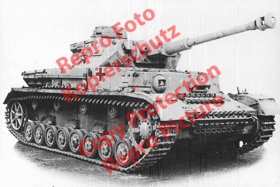 Foto-20er-Format-Panzer-Kampfwagen-Tank-IV-G-ca-20x30cm