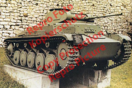 Foto-20er-Format-Panzer-Kampfwagen-II-Ausf-A-Sdkfz-121-ca-20x30cm