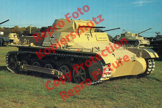 Foto-20er-Format-Panzer-Kampfwagen-I-Ausf-B-Sdkfz-101-ca-20x30cm