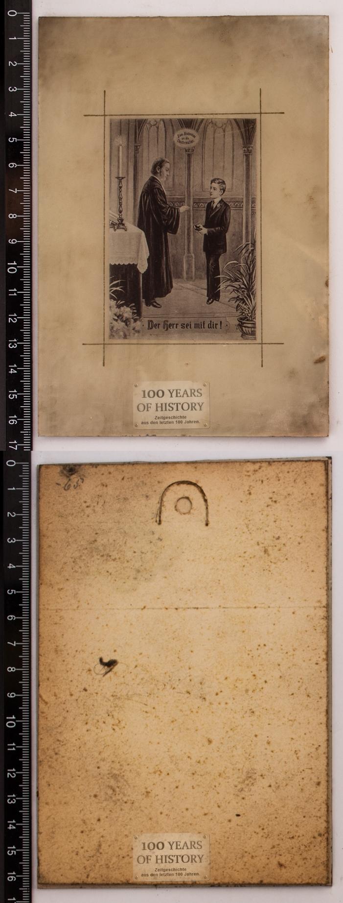 orig foto hinter glas ca 1900 bis 1910 pfarrer kirche spr che gott herr uvm ebay. Black Bedroom Furniture Sets. Home Design Ideas