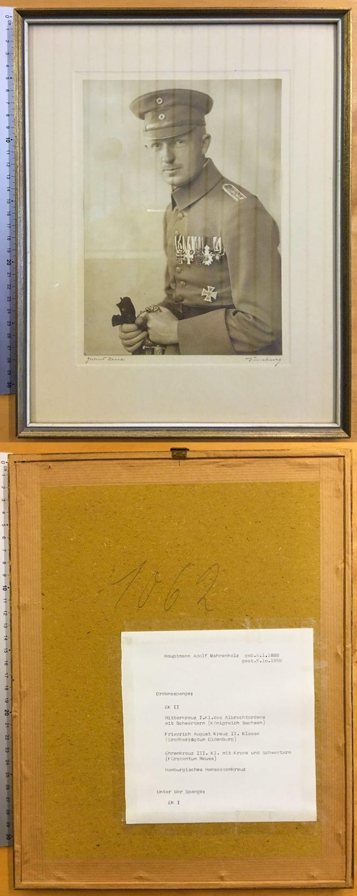 orig soldat ordensspange bandschnalle portrait foto mit. Black Bedroom Furniture Sets. Home Design Ideas